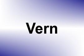 Vern name image