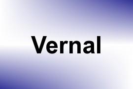 Vernal name image