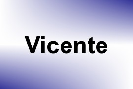 Vicente name image