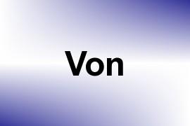 Von name image