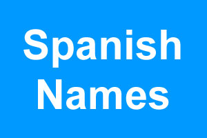 Spanish boy names